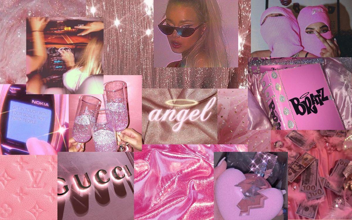 barbie in 2020 Aesthetic desktop wallpaper, Macbook