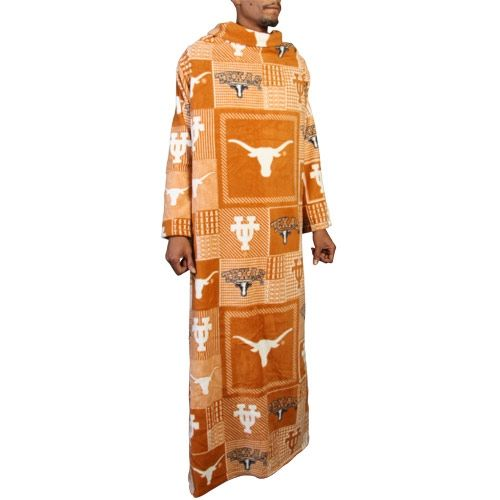 9d8376b5f Texas Longhorns Patchwork Snuggie - Burnt Orange | HoOk'Em | Texas ...