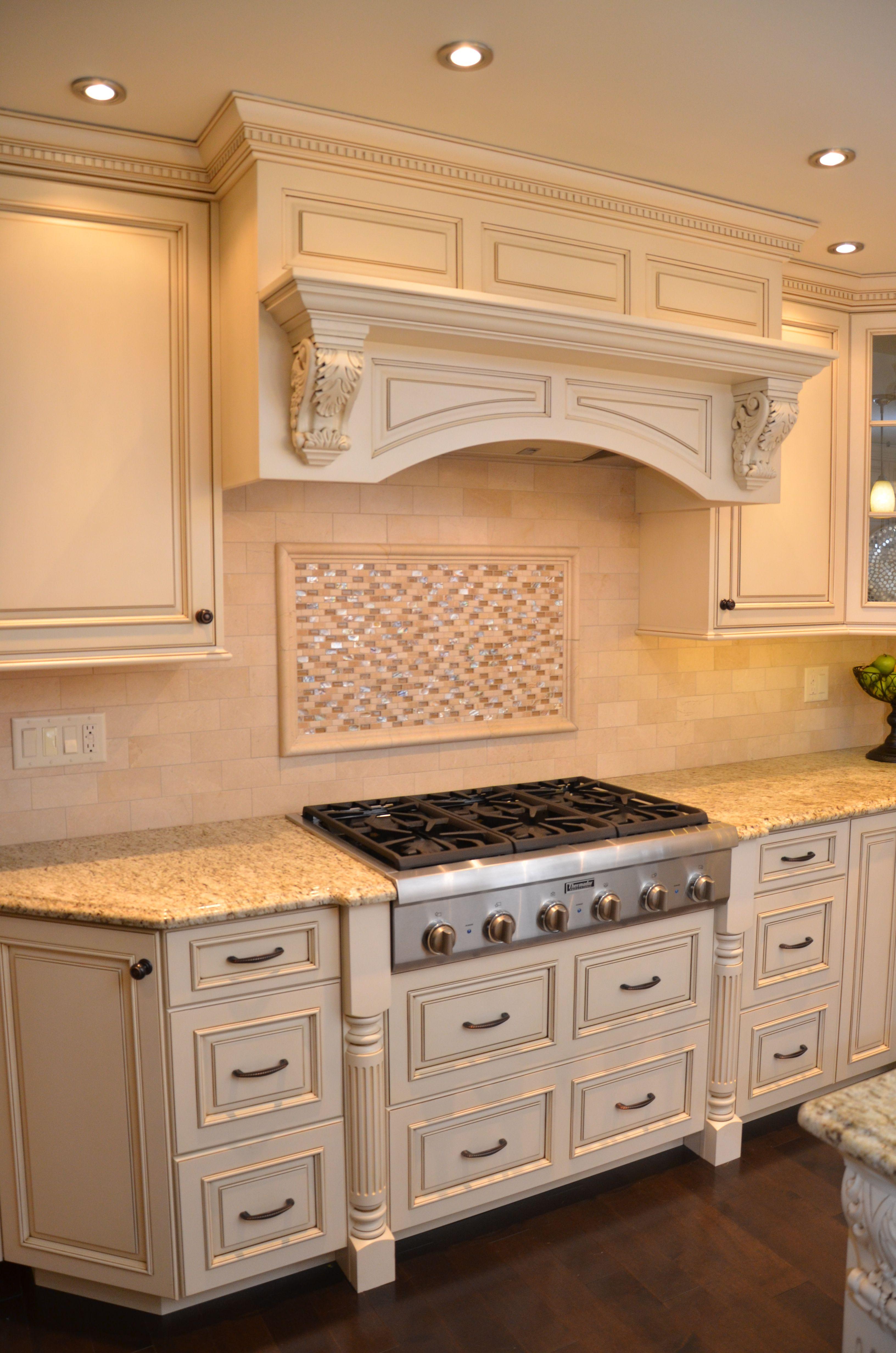 Decorative Glazed Cabinets In Marlboro Cabinet Decor Kitchen