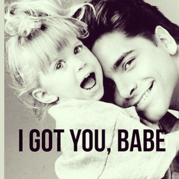Full House...one of the best shows! love michelle and uncle jessie!!!