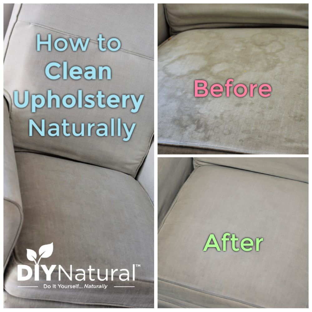 How To Clean Upholstery Naturally And A Diy Upholstery Cleaner