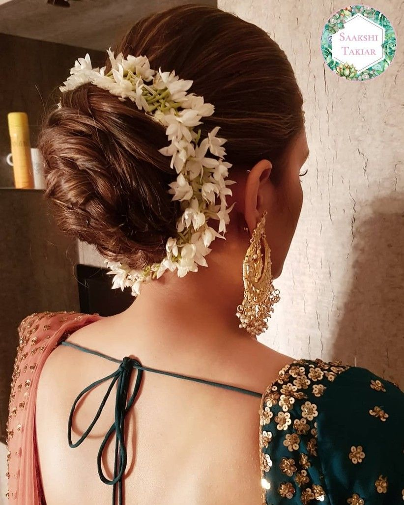 indian hairstyles bobby pins 5 minute easy side braided