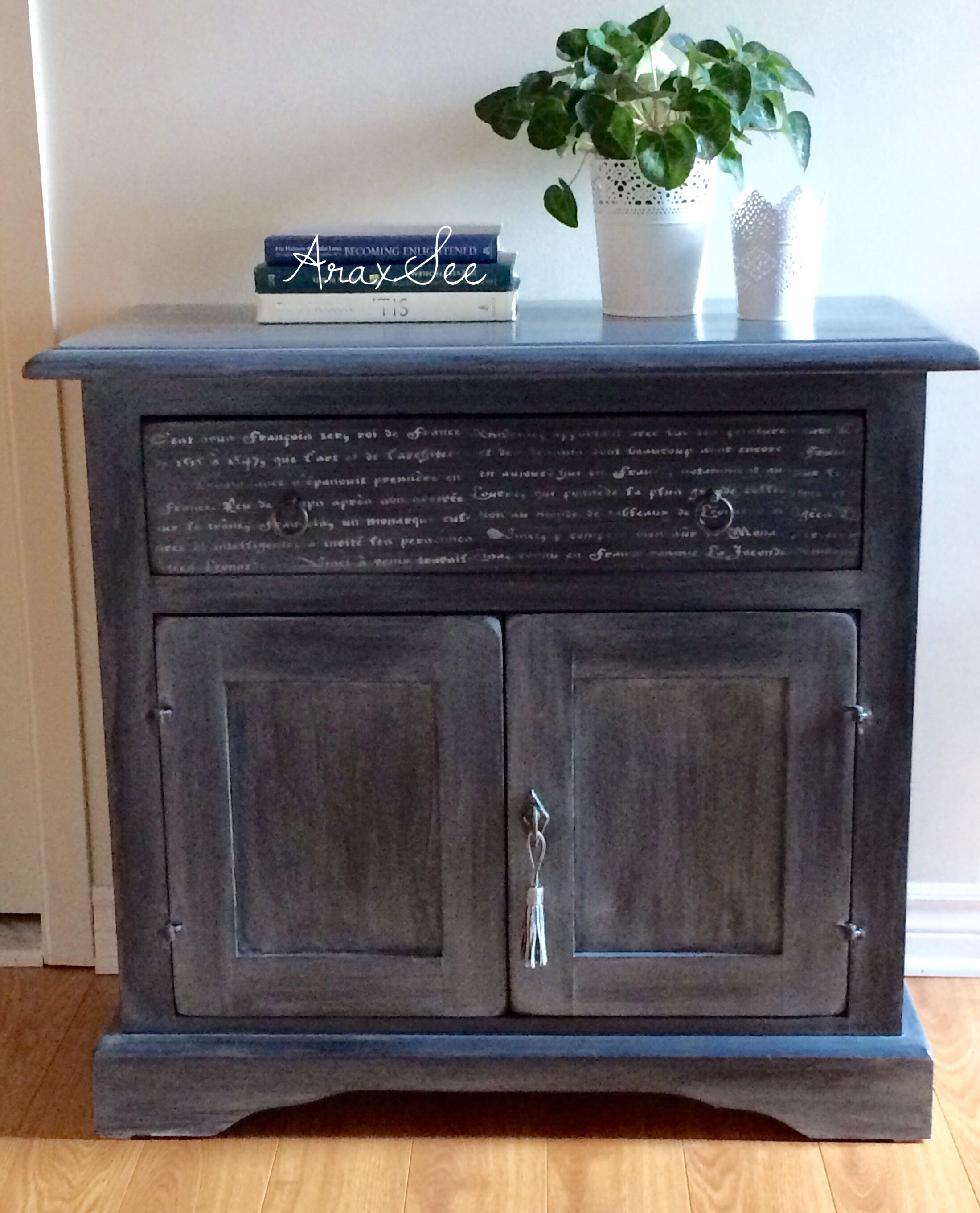Available Vintage farmhouse style heavy solid wood sideboard