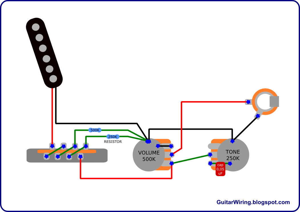 Wiring Diagrams Guitar Human Digestive System Diagram Unlabeled The Blog And Tips Fender Esquire Mod