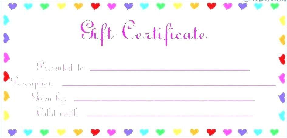 massage gift certificate ideas
