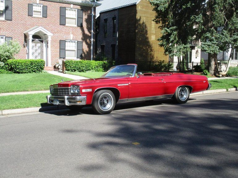1975 Buick Lesabre Convertible Buick Lesabre Buick Cars For Sale