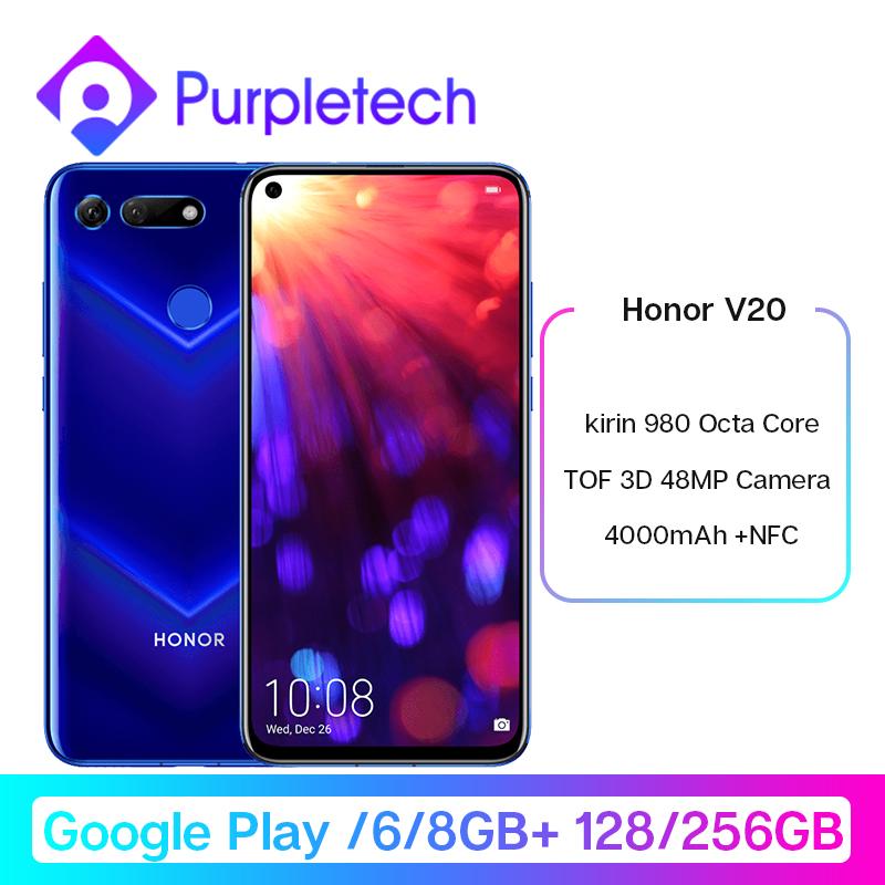 Honor V20 View 20 Smartphone Google Play Android 9.0 kirin 980 Octa Core Deals - PhoneSep.com