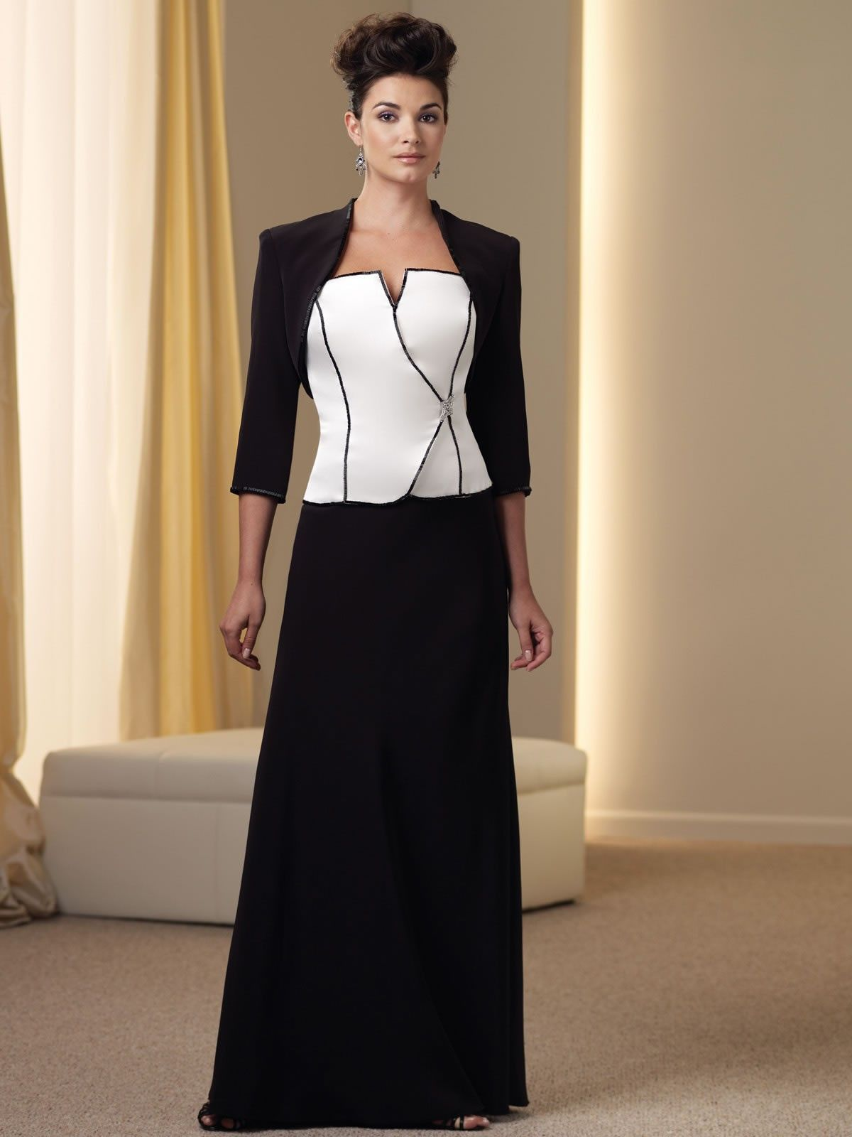 98a023862c a line silky crepe corset bodice strapless neckline mother of the bride  dress