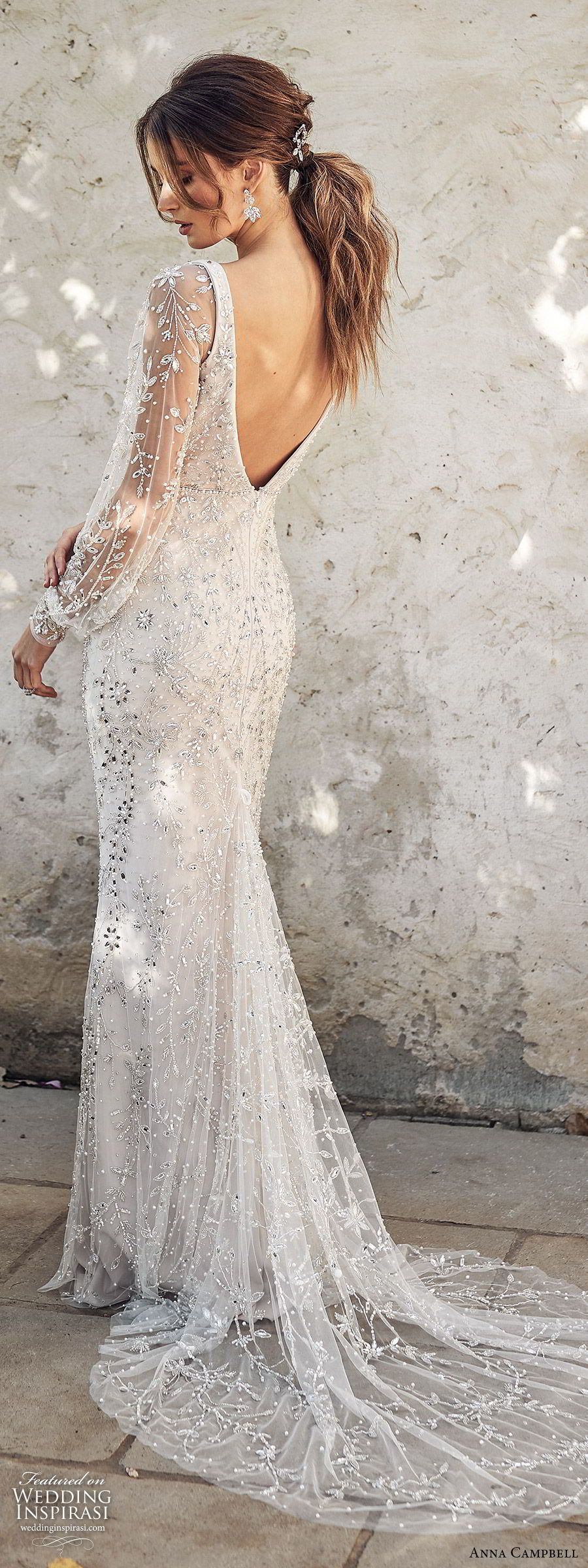 "Anna Campbell 2020 Wedding Dresses — ""Lumière"" Bridal Collection | Wedding Inspirasi"