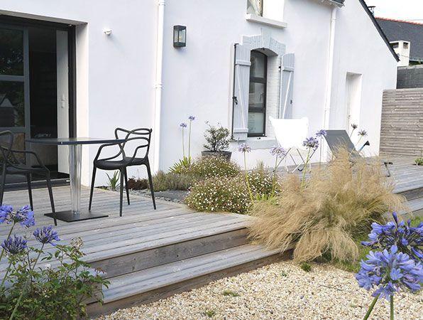 Fen tre sur cour projet bord de mer jardins de bord de for Decoration bord fenetre