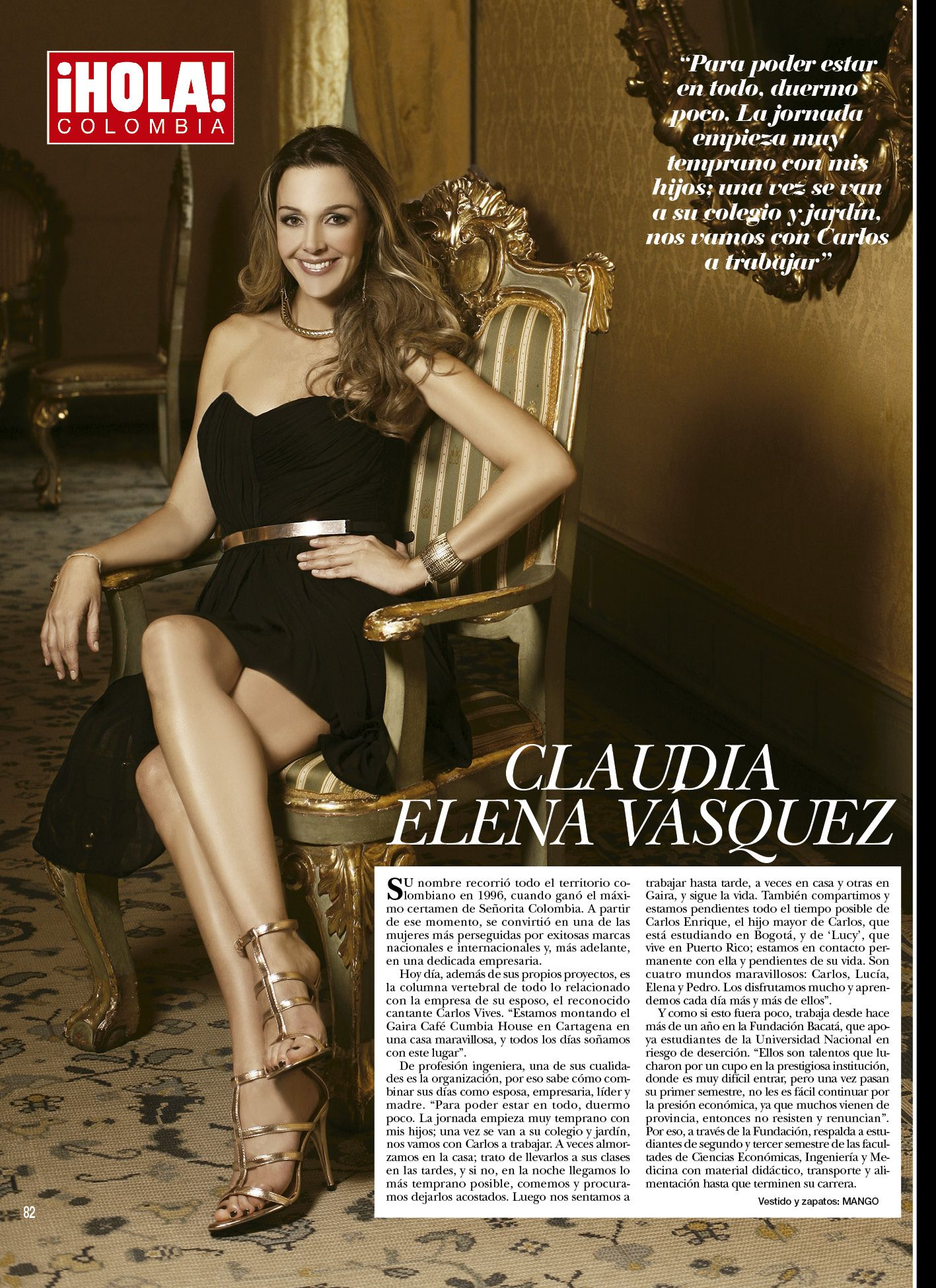 Claudia Elena Vasquez Biografia