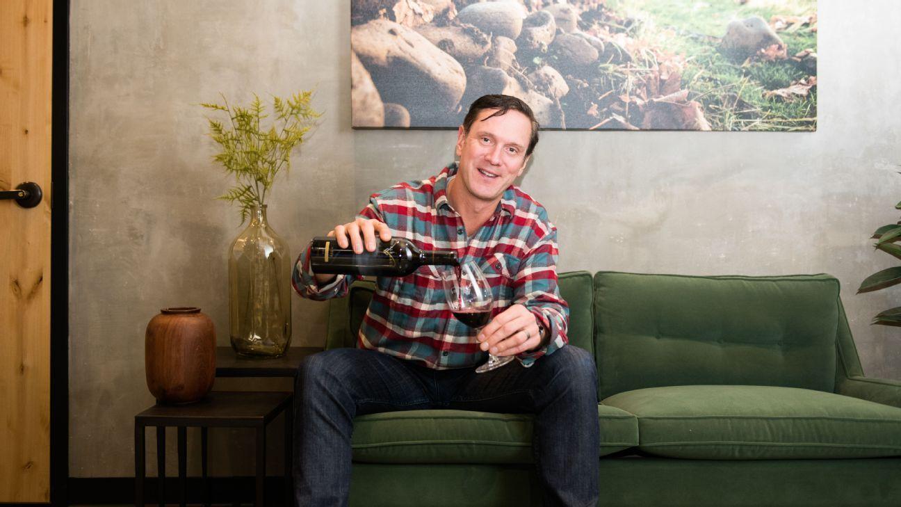 Drew Bledsoe, 'wine guy' Inside the former Pat's life