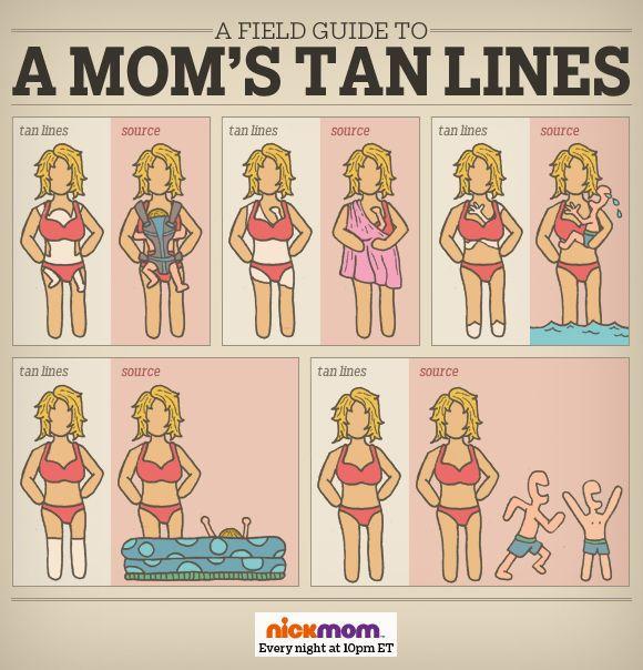 mom tan lines
