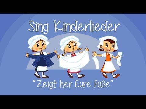 Zeigt her Eure Füße - Kinderlieder zum Mitsingen | Sing Kinderlieder - YouTube