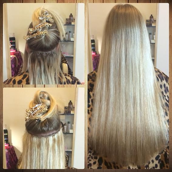Hair Extensions Adelaide Before Afters Flat Track Weft
