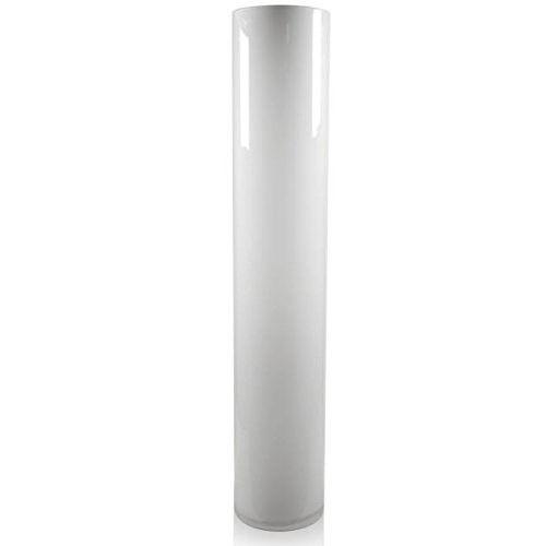 Tall White Cylinder Vase | Sevenstonesinc.com on black no, black pl, black gi, black ve, black sl,
