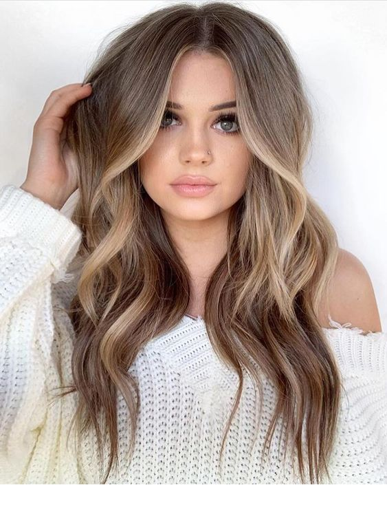 Light Cool Brown Hair Tone With Highlights Inspiring Ladies