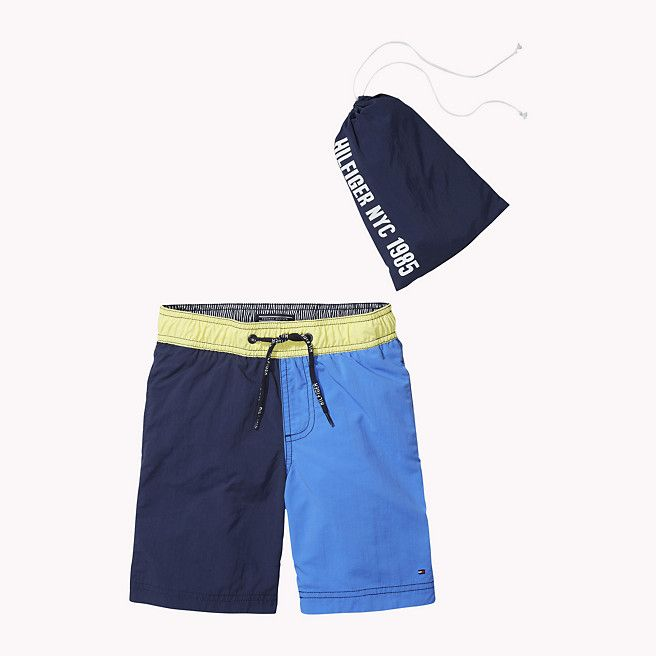 Tommy Hilfiger Colorblock Swim Shorts - palace blue (Blue) - Tommy Hilfiger Swimwear - main image