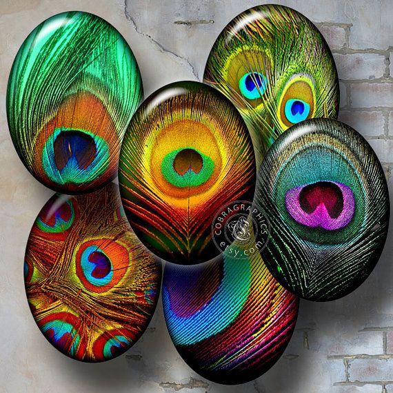 peacock feather digital collage feuille par cobragraphics sur etsy mat riel bijou a acheter. Black Bedroom Furniture Sets. Home Design Ideas