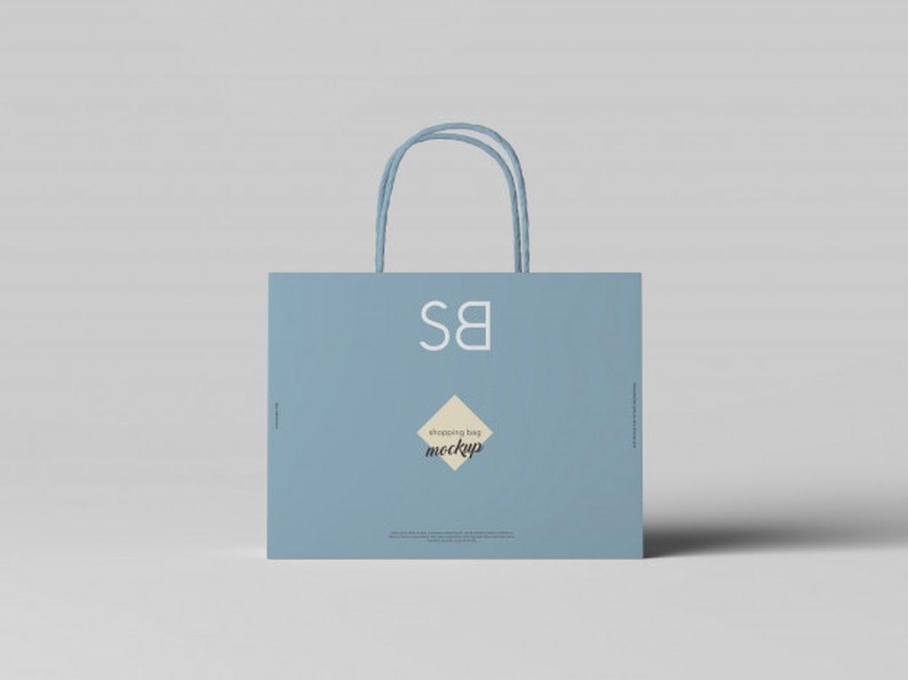 Download Shopping Bag Mockup Paid Ad Sponsored Mockup Bag Shopping In 2020