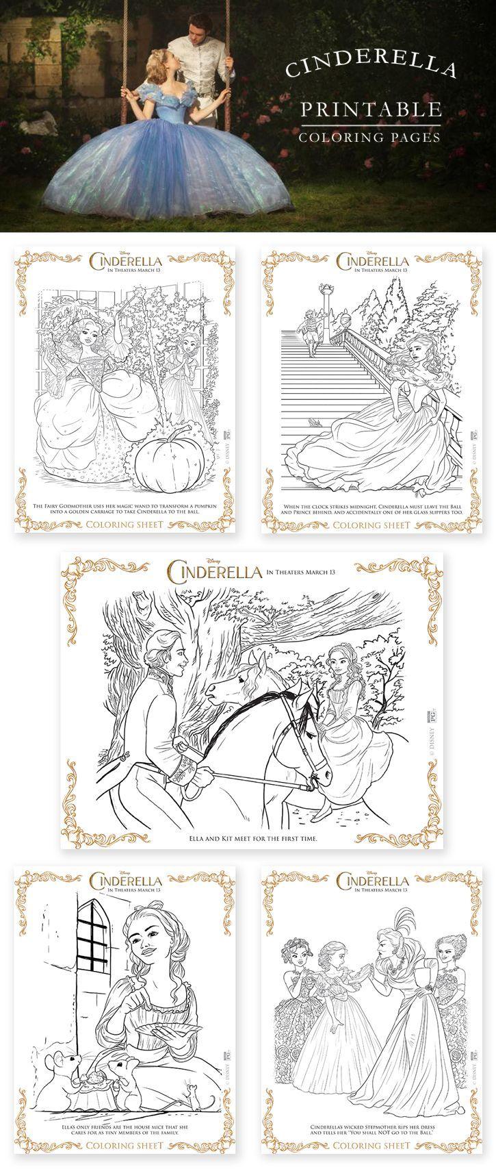 Cinderella Printables | Pinterest | Disney live, Cinderella movie ...