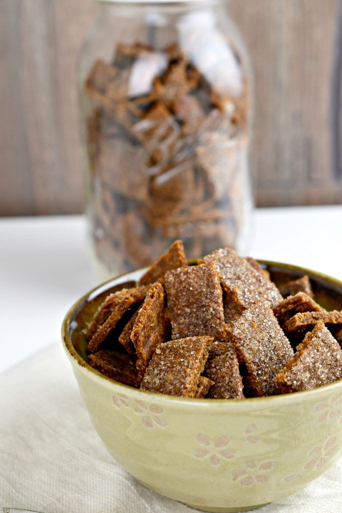 Make Your Own Homemade Cereal - Cinnamon Toast Crunch