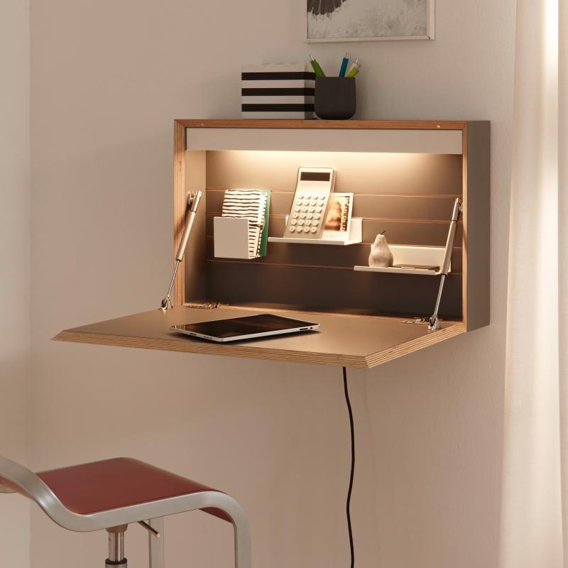 Muller Flatbox Wandsekretar Schreibtischideen Design