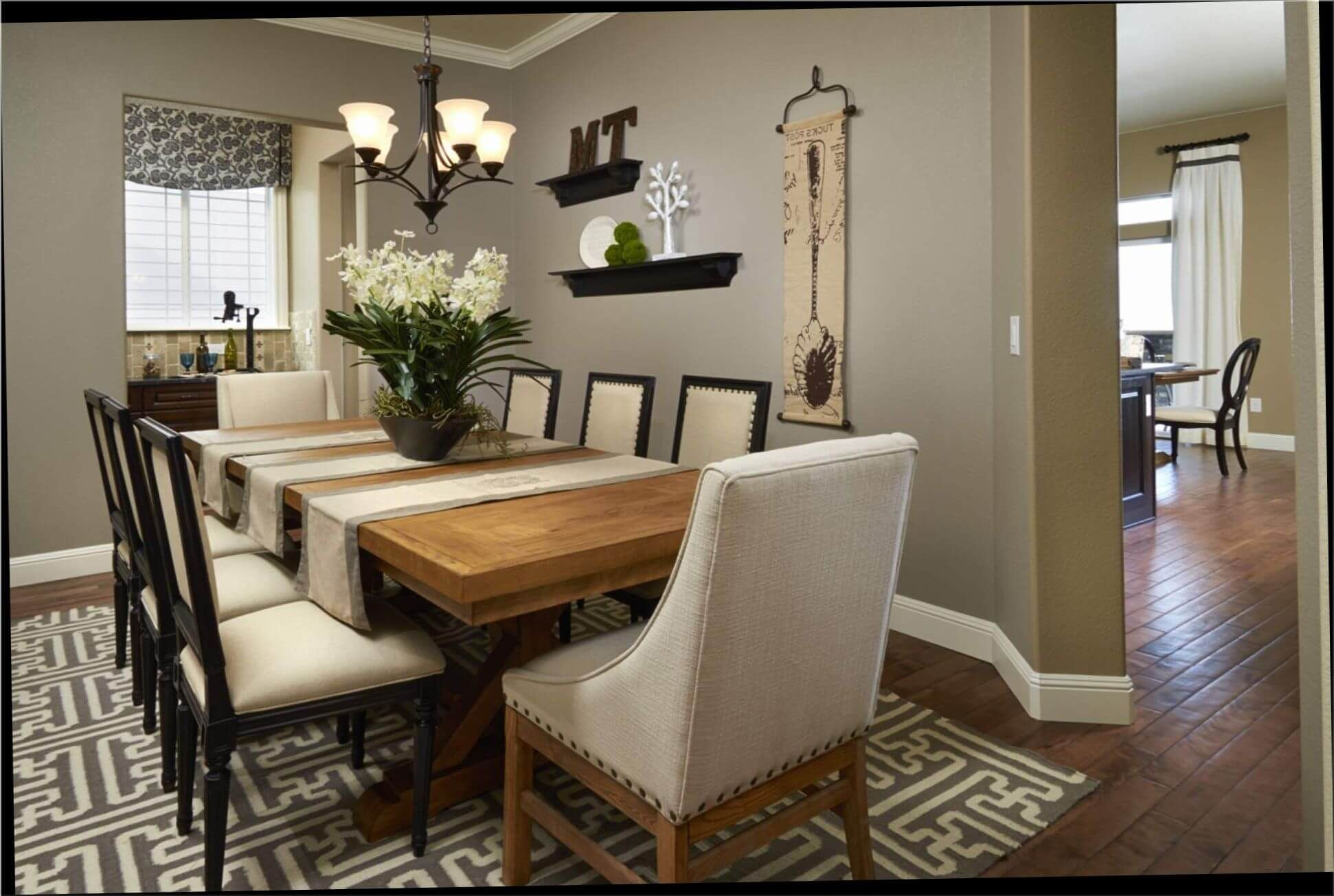 how to decorate dining room table 1942Ã 1305 decor