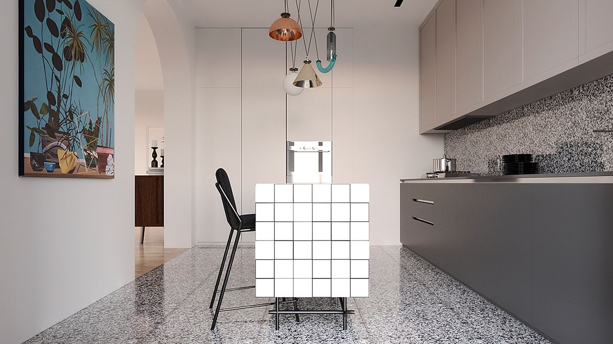 Kitchen Design Companies New Minimalist Apartment Interior Design Combines A Simple Range Of Decorating Inspiration