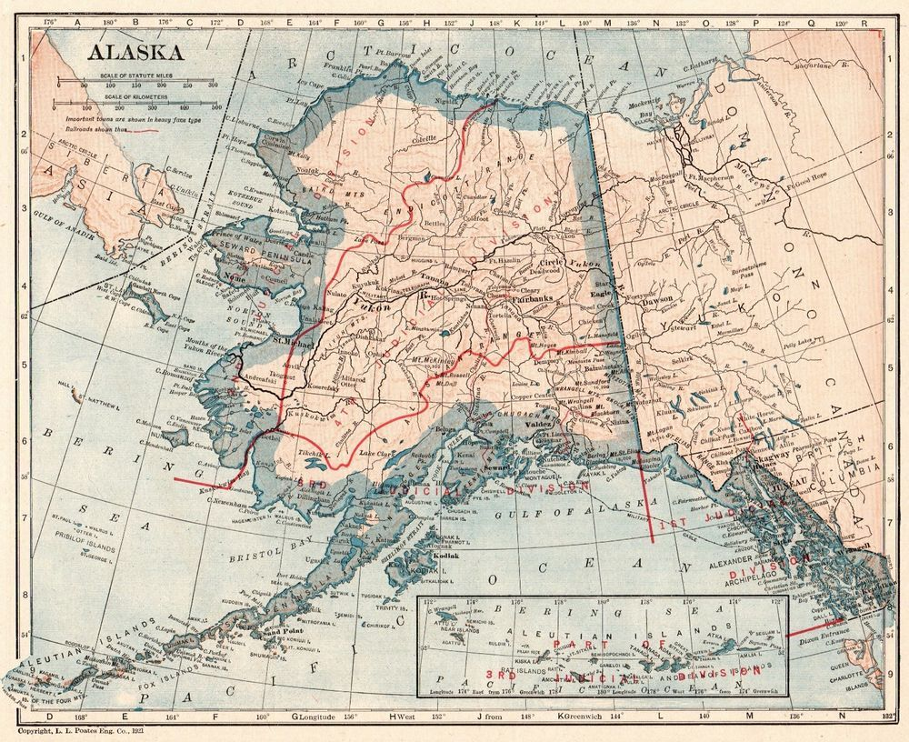 1921 Antique ALASKA MAP Vintage State Map of Alaska with ... on show me a usa map, current time in alaska, show map of spain, show alaska on a map, document purchase of alaska, show map of mexico, alagnak river alaska, world map alaska, show about living in alaska, show map of united states, exact location of alaska, state cities in alaska, lumberjack show ketchikan alaska, weather in sitka alaska, map from texas to alaska, fort seward haines alaska, show me the map, location of juneau alaska, chikuminuk lake alaska,