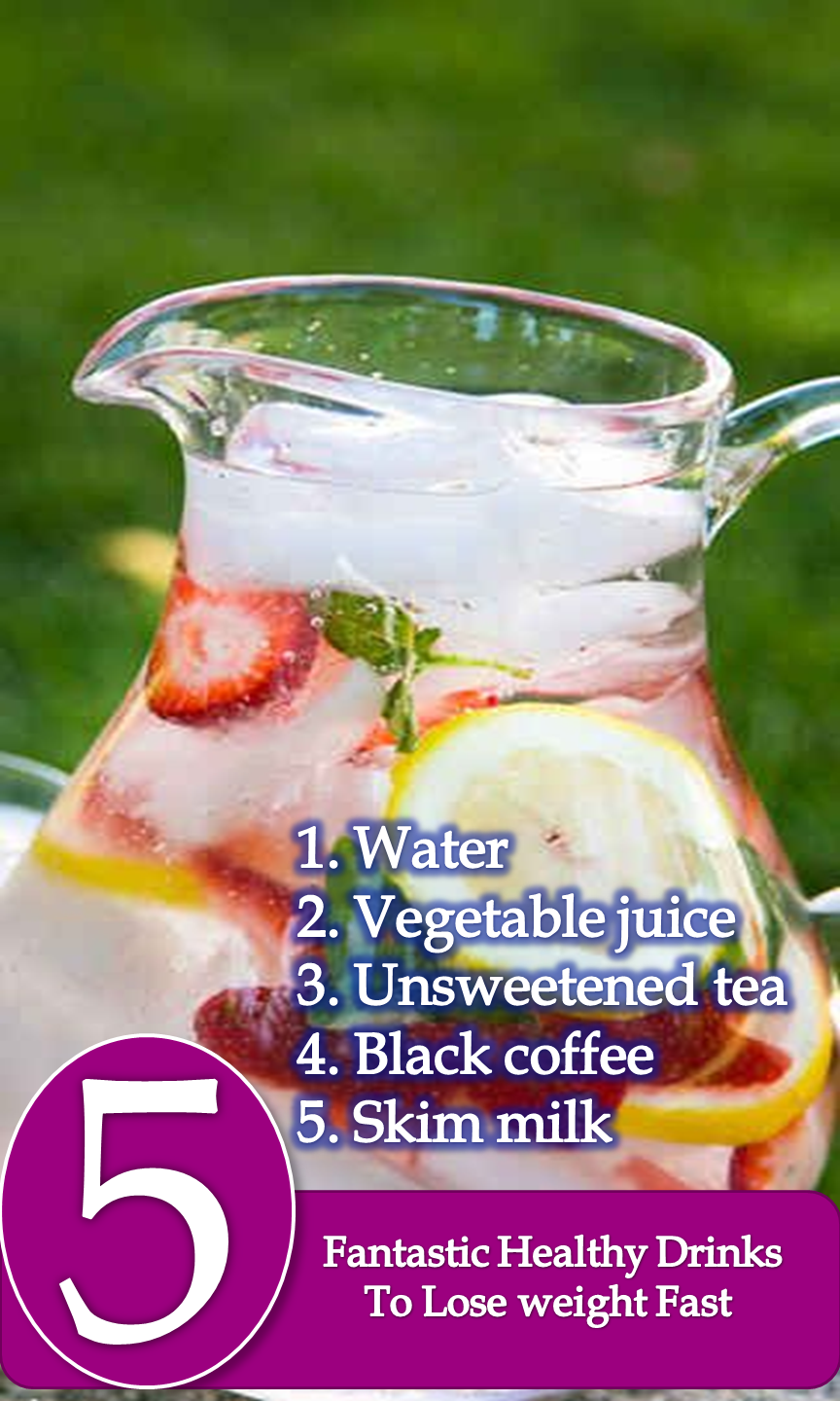 Looking for some healthy drinks to lose weight fast? Today I am going to talk about five fantastic healthy drinks to lose weight, just keep reading. Most of the people give their full concentration on their eating habit but they don't even think a little about their drinking! What they usually used to drink, they don't know how much calories they are taking from their glass!!