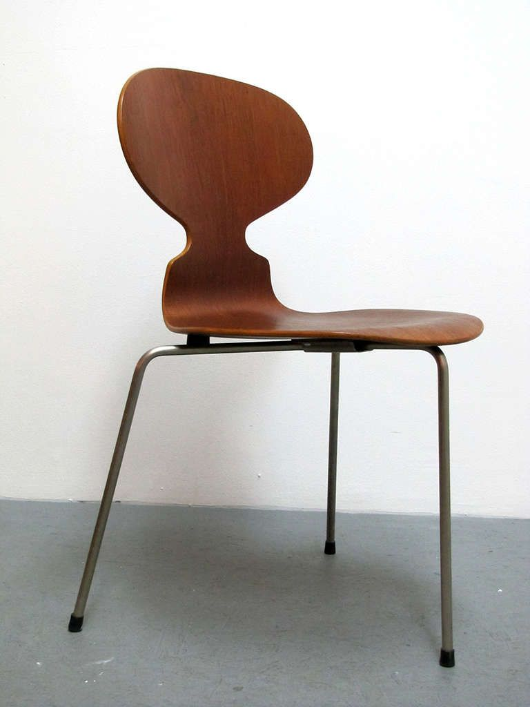 Trio of Arne Jacobsen Ant Chairs  Chairs Arne jacobsen and Ants