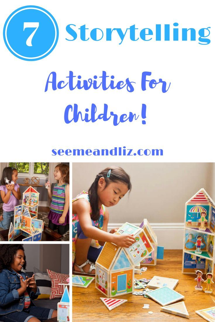Storytelling Activities For Children That Parents & Child