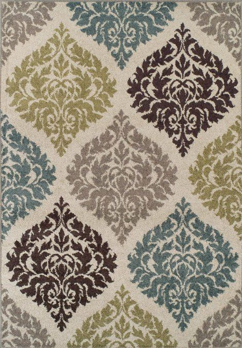 Brown Gray Blue Rug Teal And