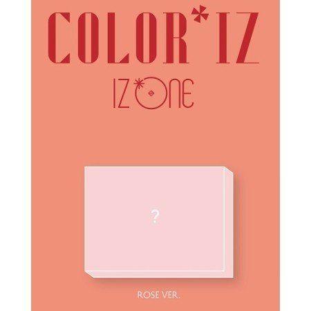 Iz*one / color*iz (1st ミニアルバム) rose ver [韓国 cd