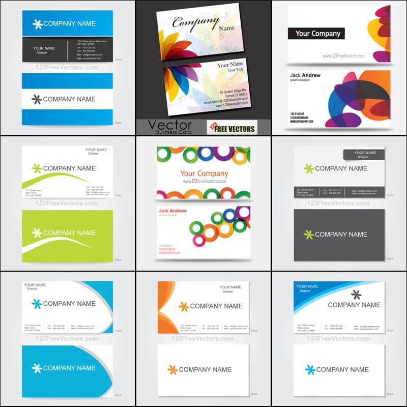 Elegante Visitenkarten Gratis Vorlagen Download Mit