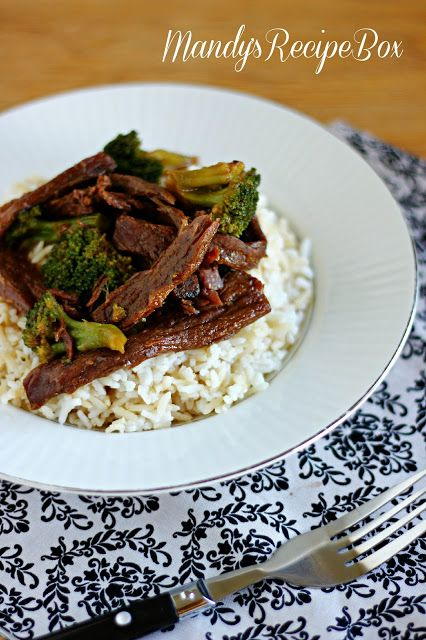 Slow Cooker Beef and Broccoli | Made From Pinterest