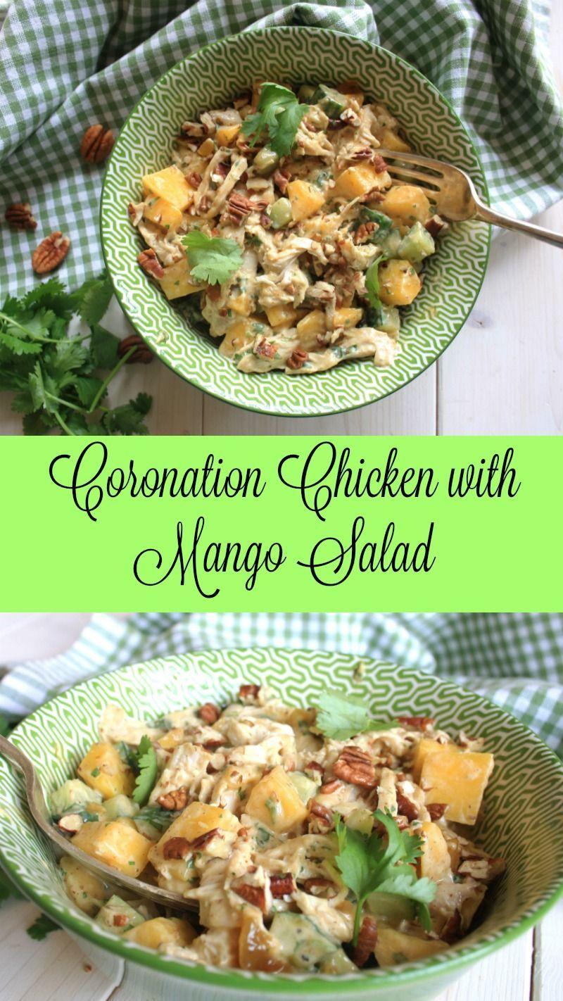 Coronation Chicken Salad With Mango Chez Le Reve Francais Recipe Coronation Chicken Salad Mango Salad Salad