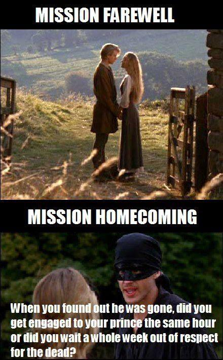 The Princess Bride Funny Mormon Memes Funny Church Memes Mormon Jokes