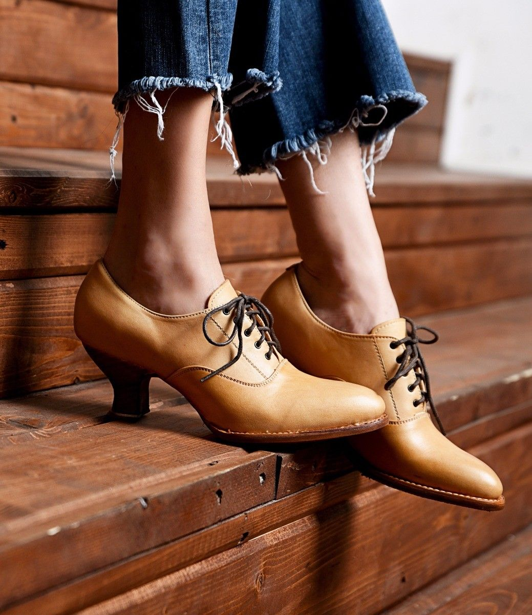 Pin On Vintage Style Shoes And Boots