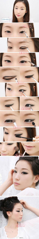Makeup tutorial edgy eyes asian fashion pinterest tutorials makeup tutorial edgy eyes baditri Gallery