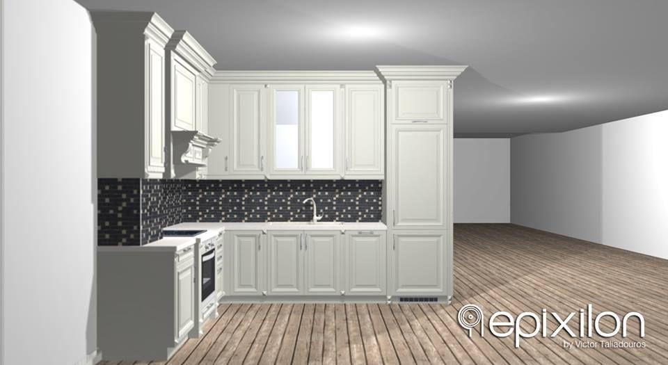 be4cf93b1d7a Δημιουργήστε μαζί μας το σπίτι των ονείρων σας! Νέο project  3d  φωτορεαλιστικός σχεδιασμός κουζίνας