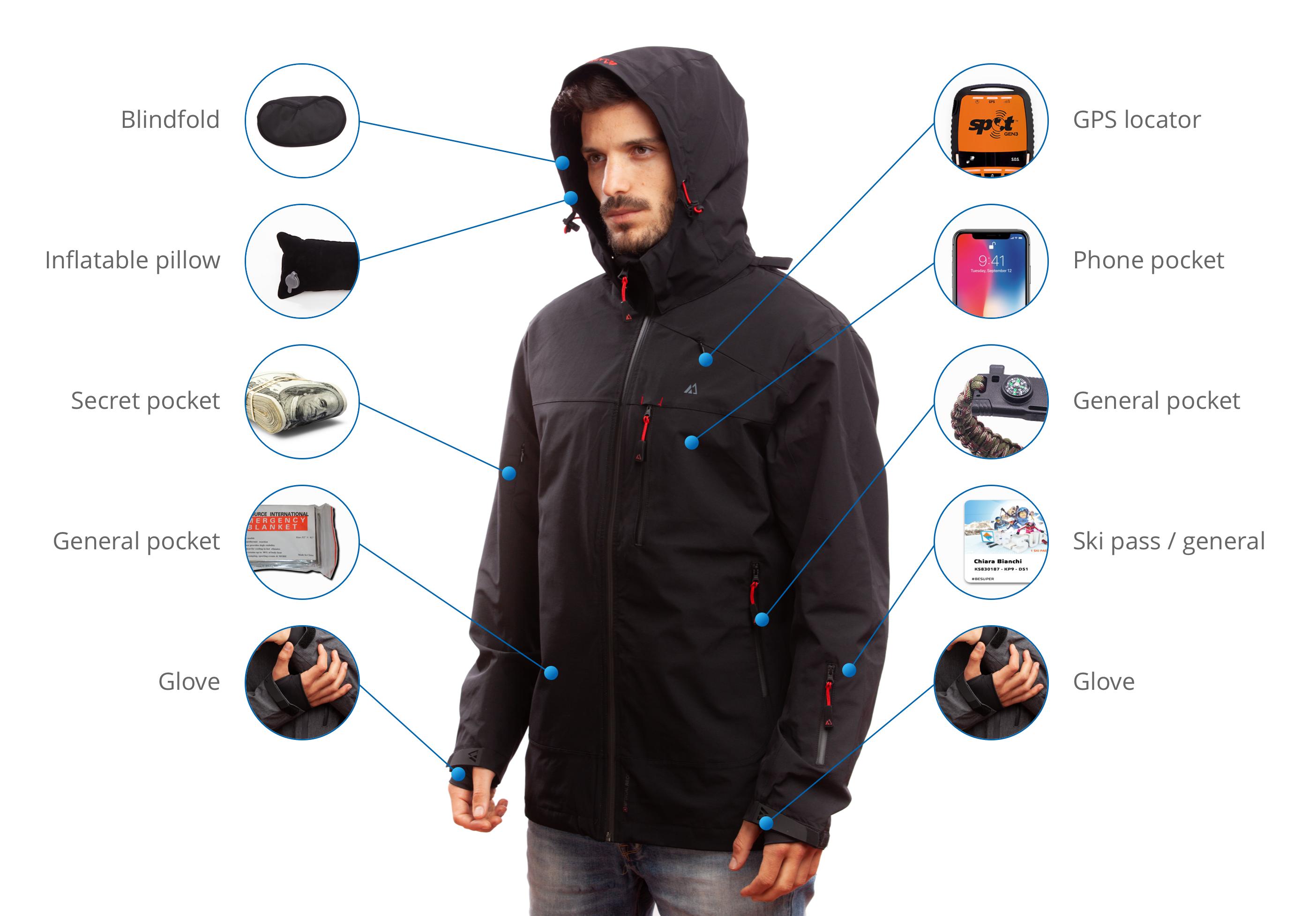 Men S Jacket Fully Loaded With Gps Bundle Apricoat Mens Jackets Jackets Travel Jacket [ 1956 x 2808 Pixel ]