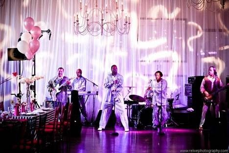 Some Live Entertainment at Alden Castle - Relive Photography #aldencastle #weddings #events #modernvintage #liveband