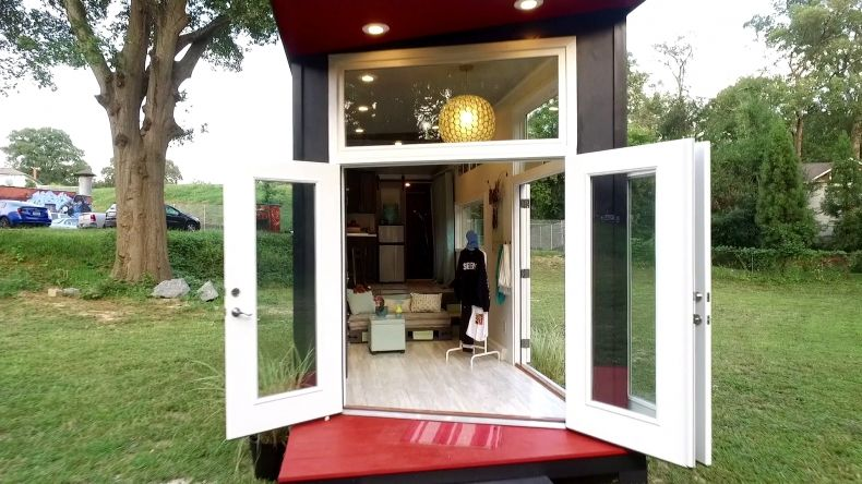 Pop Up Shop House Entrance Tiny House Nation Tiny House