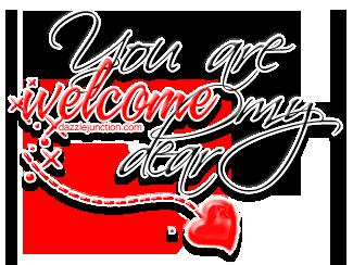 You Are Welcome My Dear Quote Congratulation Pinterest Bem Vinda