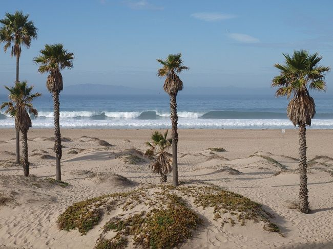 View from the Embassy Suites Mandalay Bay Beach Resort in Oxnard ...