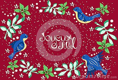 bright greetings in french translation merry christmas