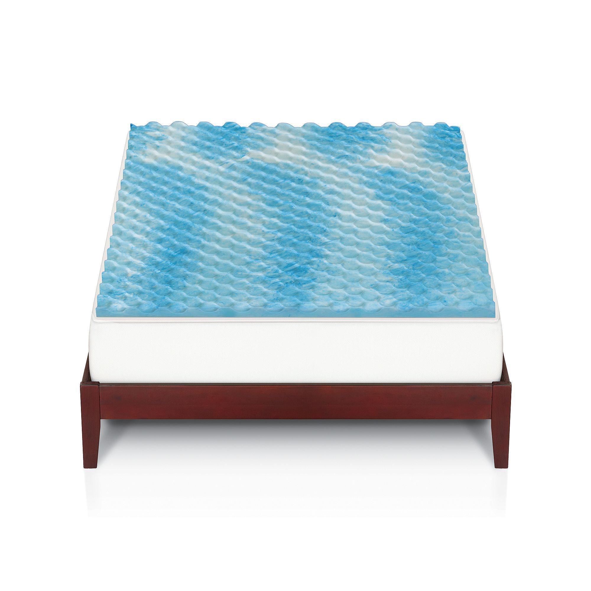 the big one gel memory foam mattress topper memory foam mattress