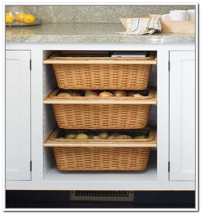 Under Counter Storage Baskets Kitchen Cabinet Storage Diy